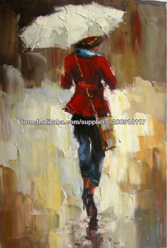 Beau art peintures l 39 huile la main peinture l 39 huile abstraite - Peinture abstraite huile ...
