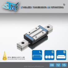 STAF Caged(Retainer) Miniature Linear Guides for Precision Instrument