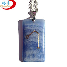 natural rock minerals tumbled stone pendant healing crystal rock products engraved for sale