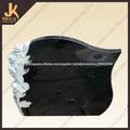 JK piedra diseño o cliente estilo negro piedras sepulcrales de tumbas