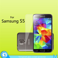 Phone Front Cover Tempered Glass Screen Protector for Samsung Galaxy S5