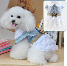 Sweet Wholesale Lovely New Design Pet Clothes Dog Wedding Dress Trade Assurance