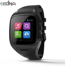 "latest wearable gadgets 1.54"" led watch phone android wifi smart watch mobile gps watches"