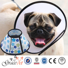 Eco-friendly PP Material Dog Wound Healing Cone Adjustable Pet Health Elizabethan Collar