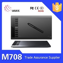 Ugee M 708 High Quality Graphic Drawing Tablet Painting Tab Brand New for Windows Win 8 7 Vista XP Mac OS Low Price