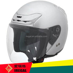 ABS shell half face motorcycle helmet with ECE certificate