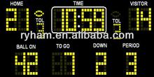 electronic scoreboard football sport led display