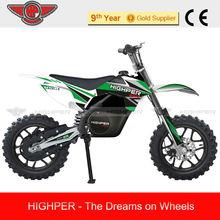 500W Electric Dirt Bike, Electric Mini Cross Bike For Kids