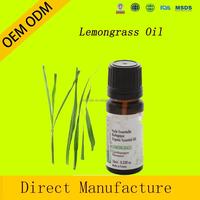 factory wholesale 100% pure natural lemongrass essential oil