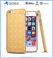 Drop protective Cube TPU bumper skin for iphone 6S