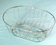 wire fruit wicker basket