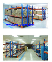 China high quality shelf with backboard with simple installation