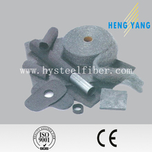 Reinforcing stainless steel wool used for high density concrete