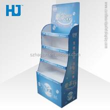 Goma de mascar publicidade Stand de exposição Merchandising exibição alta qualidade de papelão ondulado móveis