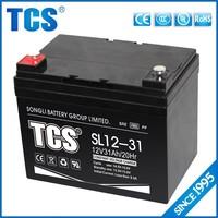 Long life power supply 12v31ah ups battery price