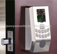 Easy to Install with No Wiring Required Small Biometric steel digital Fingerprint door Lock with USB Connection without handle