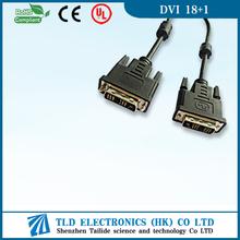 2m GOLD DVI Male to Male 25 pin DVI Digital Monitor TV Cable