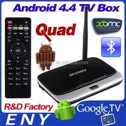 Smart tv stick 2GB/8GB Quad Core Mini PC With Bluetooth4.0 Dual Wifi RK3188 Android TV box
