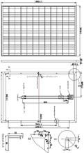 195W 200W 205W 210W PV solar panel module with CE FCC approved
