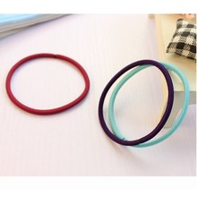 Colorful 4mm custom elastic rubber band for girl
