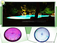 par56 rgb 32 watt ip68 remote control swimming pool led underwater light 12v AD DC with glass cover