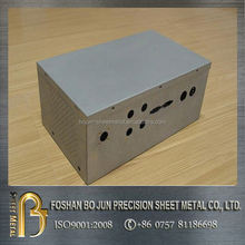high precision manufacture morror shiny surface metal case new products made in china supplier
