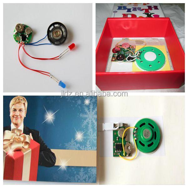 Light sensor music chip/light music chip