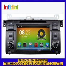 "android 4.2.2 7 "" inch capacitive touch screen 2 din car dvd gps navigation system for bmw m3 e46 wifi 3g"