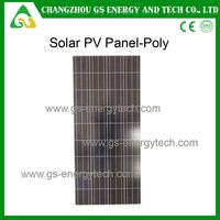 High efficiency long life bulk price poly flexible solar panel 100W