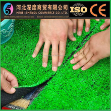 golf field artificial grass decoration in vase