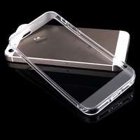 New Light Clear For iPhone 5 5S Transparent Soft TPU Cover Case Skin yong