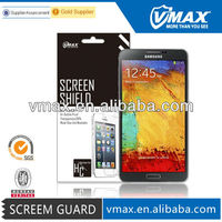 TOP Selling For Samsung galaxu Note 3 clear screen protector,N9000 screen protector oem/odm (High Clear)