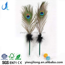 novel creative peacock shape ball pen for promotion and advertisement