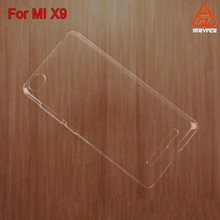 cellphone case for MI X9 ,crystal case for MI x9 ,new product Plastic back cover cell phone for MI X9