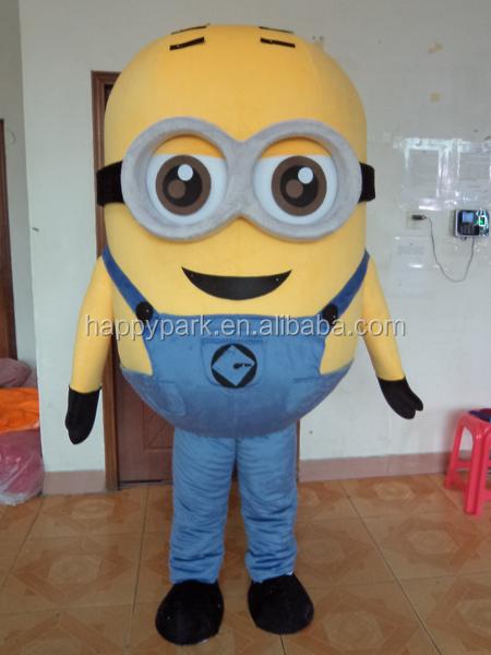 accepter paypal adulte despicable me minion costume de mascotte location mascot id de produit. Black Bedroom Furniture Sets. Home Design Ideas