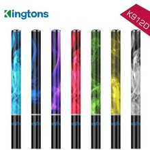 2015 Kingtons Hottest e cigarette wholesale of 600 Puffs with Stainless Steel Body and Crystal Tip