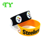 technology printed silicone wristband ink filled bracelet