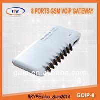 Gevey Sim Card GoIP 8 VoIP Gateway Imei Changing