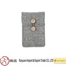 Wholesale High Quality Shockproof Felt Mobile Phone Case, Felt Cell Phone Case,Cell Phone Cover