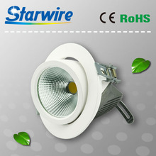 TUV New Design COB adjustable LED downlight 30W Trunk Lamp Dimmable