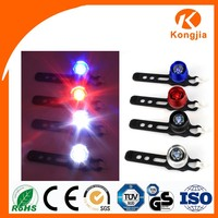 Aluminum Colorful Strobe Light Silicon Bicycle Light on Seatpost