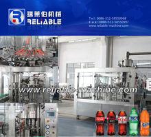 Carbonated Beverage Filling Machine/Soft Drink Filling Machine For Glass Bottle or PET Bottle