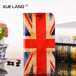 Leather mobile phone case cover for huawei ascend y600