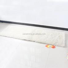 Polyester super soften yarn and shiner flooring mat;door mat