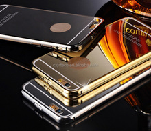 2015 Best seller for iphone 6 mirror phone case ,mirror mobile phone case for iphone 6, For iphone 6 aluminum mirror bumper case