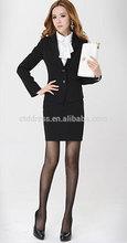 venta al por mayor 2014 china alibaba nuevo diseño de la falda de las señoras trajes de uniformes de oficina