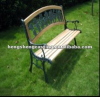 outdoor cast iron decorative metal benches