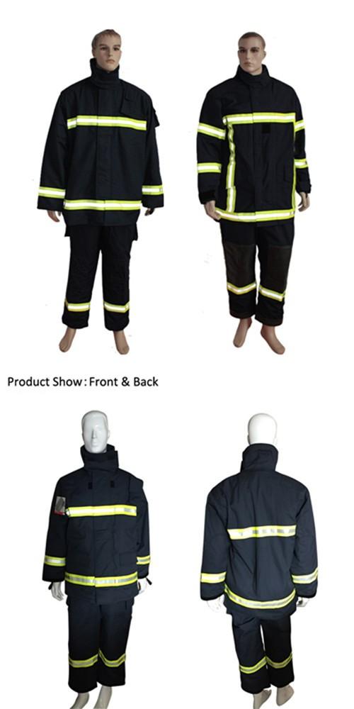 Номекс IIIA EN469 пожаротушения костюм