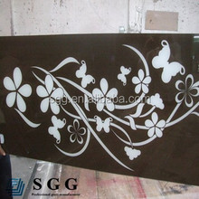 10mm/ 2mm/ 15mm/ 19mm tempered painted glass table top