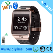 Smart wrist watch Bluetooth contact phone,watch with sim card slot